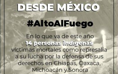 Pronunciamiento: #AltoAlFuego contra los pueblos indígenas en México
