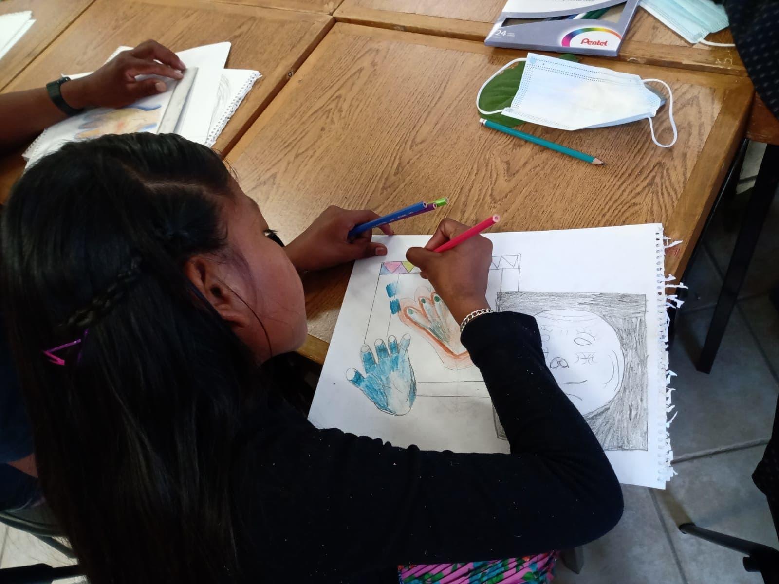 Encuentro de jóvenes y taller de pintura