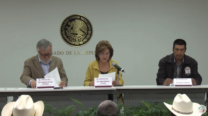 """VIDEO: Conferencia sobre la """"Caravana por la justicia en la Sierra Madre Tarahumara"""""""