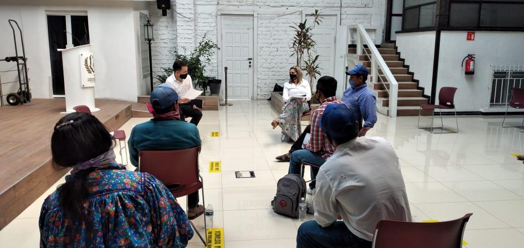 Integrantes de la comunidad de Bosques San Elías Repechique presentan queja ante la Comisión Estatal de Derechos Humanos
