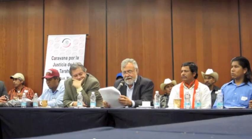 Acuerdos de la Caravana Justicia en la Sierra Tarahumara –  VIDEO