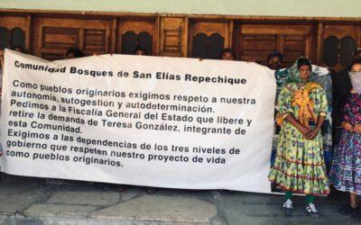 Comunicado: Detienen a integrantes de la Comunidad de Bosques San Elías Repechique agentes ministeriales de la Fiscalía del Estado