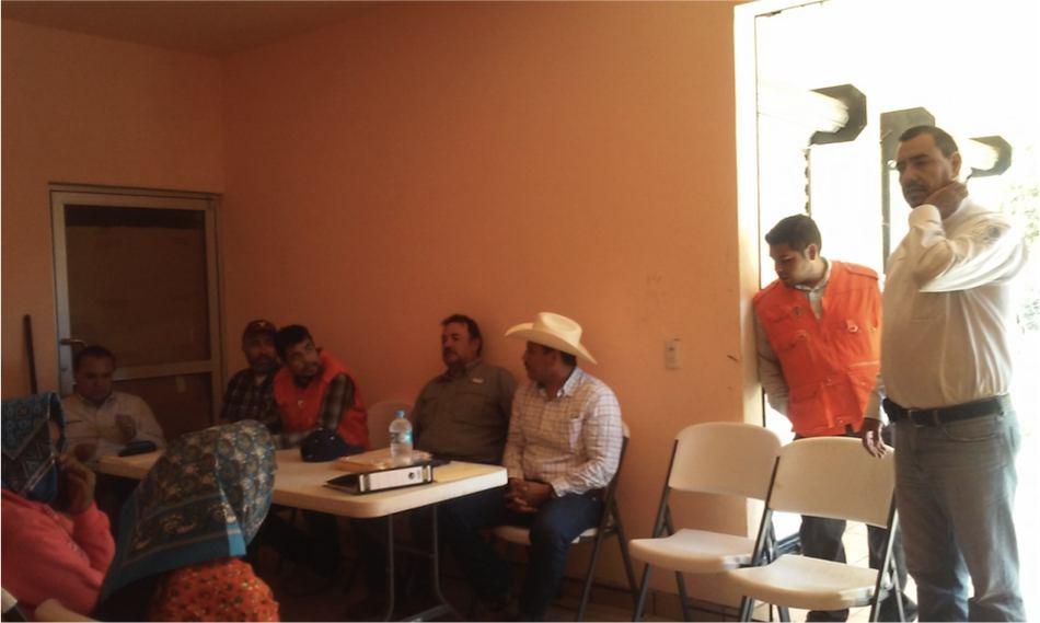 Visita del personal de CONAGUA y empresas licitantes