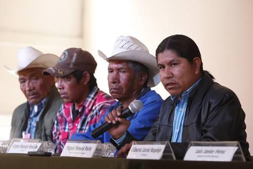 Reconocer su derecho ancestral a la tierra, exigen etnias de la Tarahumara