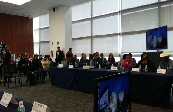 Senado da seguimiento a la Caravana por la Justicia de la Sierra Madre Tarahumara